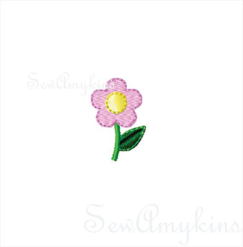 Tiny Daisy Flower mini design