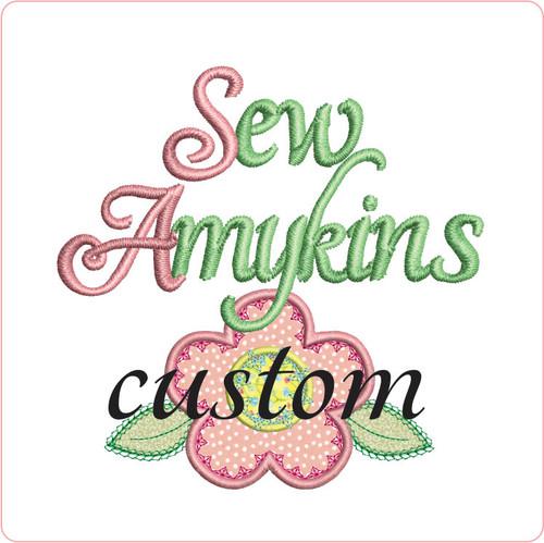custom embroidery digitizing of your logo