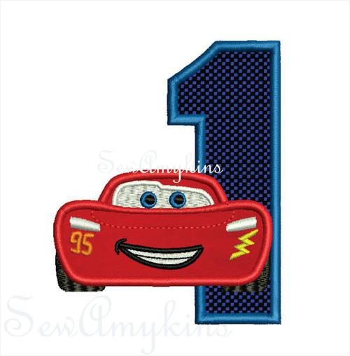 Lightning McQueen Numbers