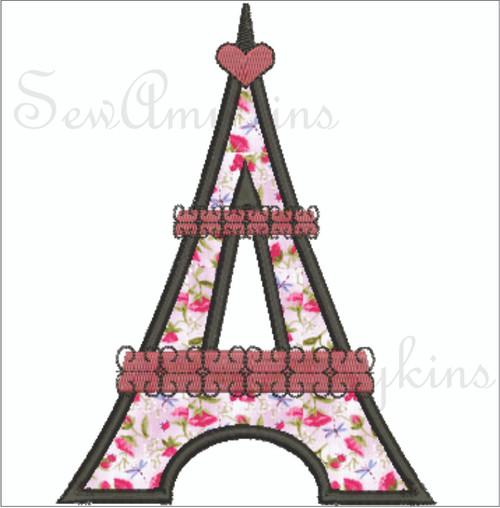 Eiffel Tower applique