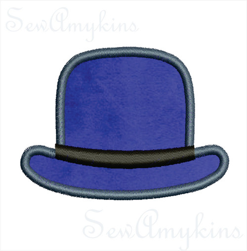 Bowler Hat applique