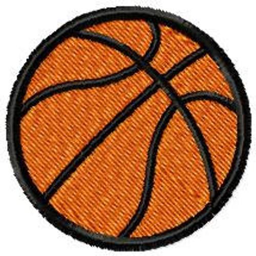 Basketball 5 files applique + fill stitch