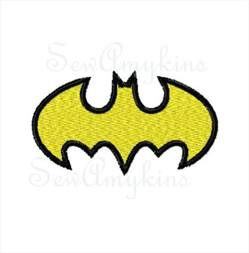 Batman shirt sized logo 2 sizes