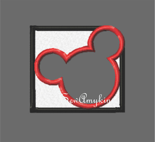 Mickey Mouse colorblock logo