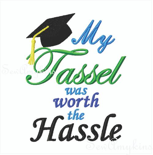 Graduation Cap Tassel was Worth the Hassle
