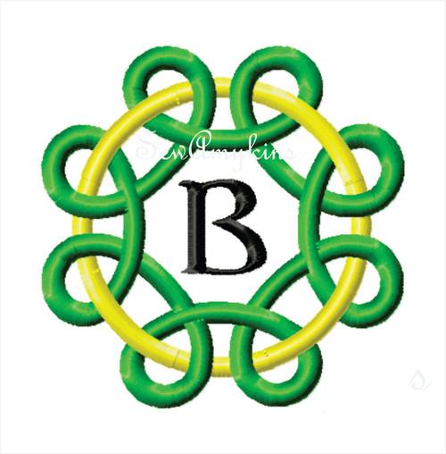 Celtic Kells Alphabet