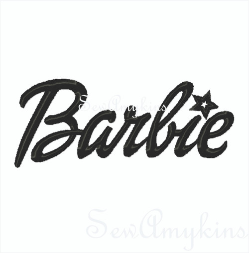 Barbie word 3 files