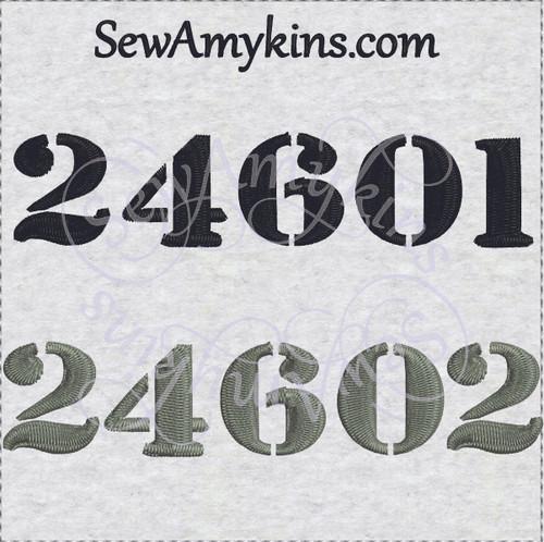 24601 les mis valjean prisoner number embroidery 24602 design prison
