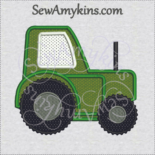 farm tractor applique machine embroidery equipment deere