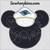Mickey Mouse applique ship captain cruise line