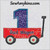 first birthday number 1 one little red wagon applique machine embroidery design 1st