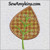 leaf applique fall autumn machine embroidery design