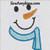 snowman face applique scarf carrot embroidery design winter snow man
