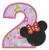 Minnie Mouse applique Number 2