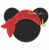 Mickey Mouse Pirate hat applique 3 sizes