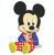 baby Mickey Mouse sitting applique machine embroidery design