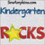 kindergarten rocks school star applique 4x4