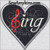 heart sing applique machine embroidery design love g clef