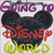 Going to Disney World Mickey mouse applique embroidery design, 3 sizes