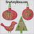 applique swirl holly embroidery designs bird tree vine ornament