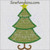 Christmas tree applique 1 Layer star embroidery design