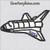 space shuttle applique space ship rocket embroidery design.JPG
