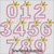 number crown applique machine embroidery design birthday numbers princess