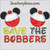 Mickey mouse save the bobbers fishing bobber applique embroidery breast cancer awareness
