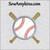 baseball bat machine embroidery base ball