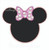 available separately Minnie Mouse diamond edge