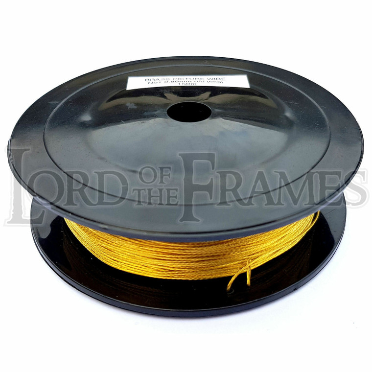 Brass Picture Hanging Wire No.1 0.80mm x 150m 6kg