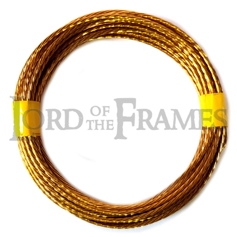 Brass Picture Hanging Wire No.1 0.80mm x 3m 6kg