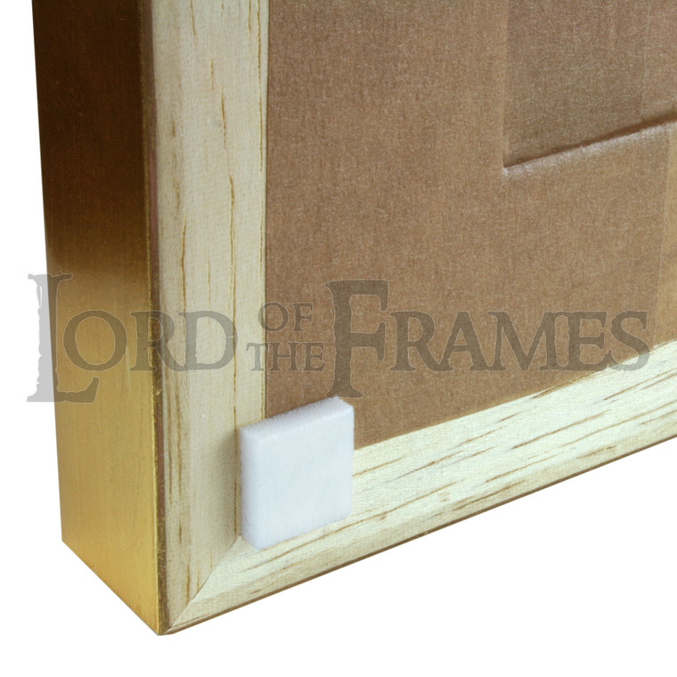 10mm White Foam Bumpers 1000 Squares