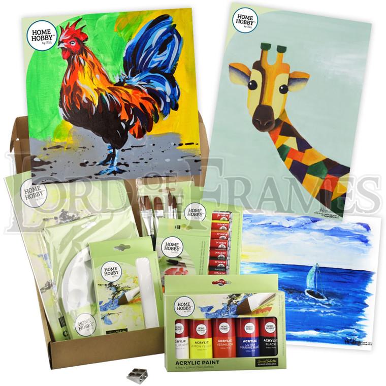 Paint Studio Kit Plus • Rooster by Nicholas Choong • Intermediate