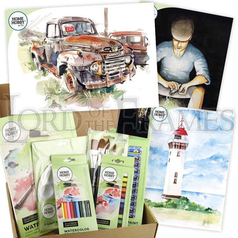Watercolor Studio Kit Plus • Rusty Truck by Gary Wing • Advanced