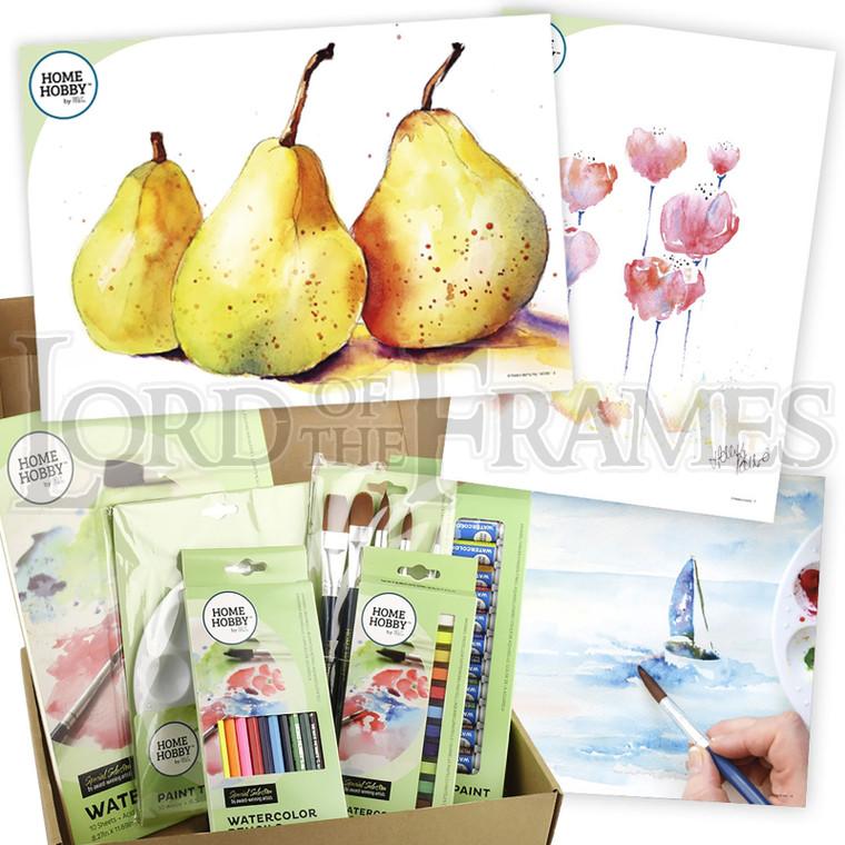 Watercolour Studio Kit Plus • Trio of Pears by Kristin Ranney • Beginner