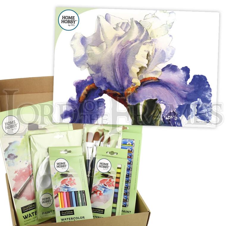 Watercolour Studio Kit • Iris by Robin Berry • Intermediate