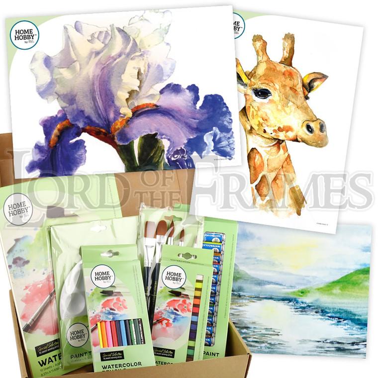 Watercolour Studio Kit Plus • Iris by Robin Berry • Intermediate