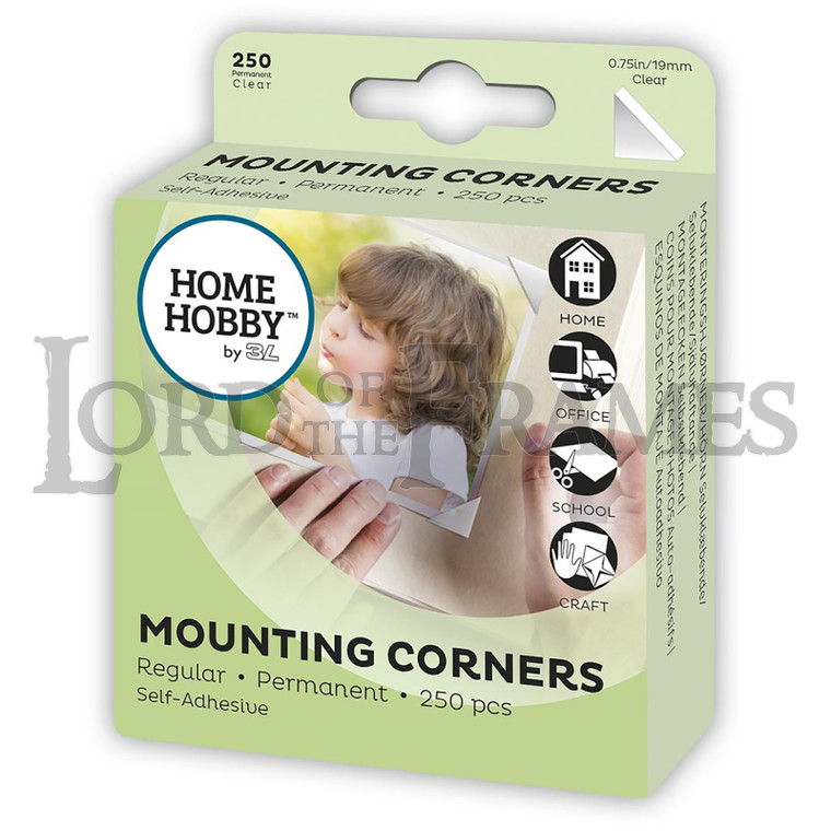 Mounting Corners 19 mm 250 pcs