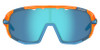 Crystal Orange w/ Clarion Blue, AC Red, Clear - Tifosi Sledge Sunglasses