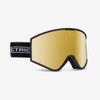 Electric Kleveland goggle - black tape w/brose gold chrome plus 1