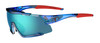 Crystal Blue - Clarion Blue, AC Red, Clear