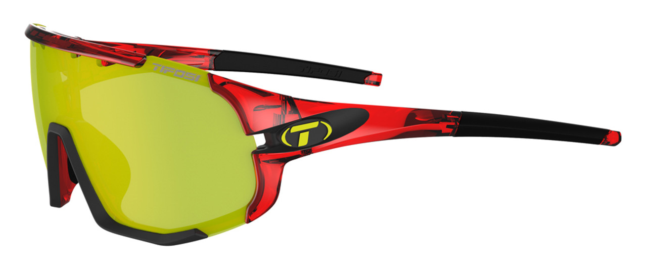 Crystal Red - Clarion Yellow, AC Red, Clear