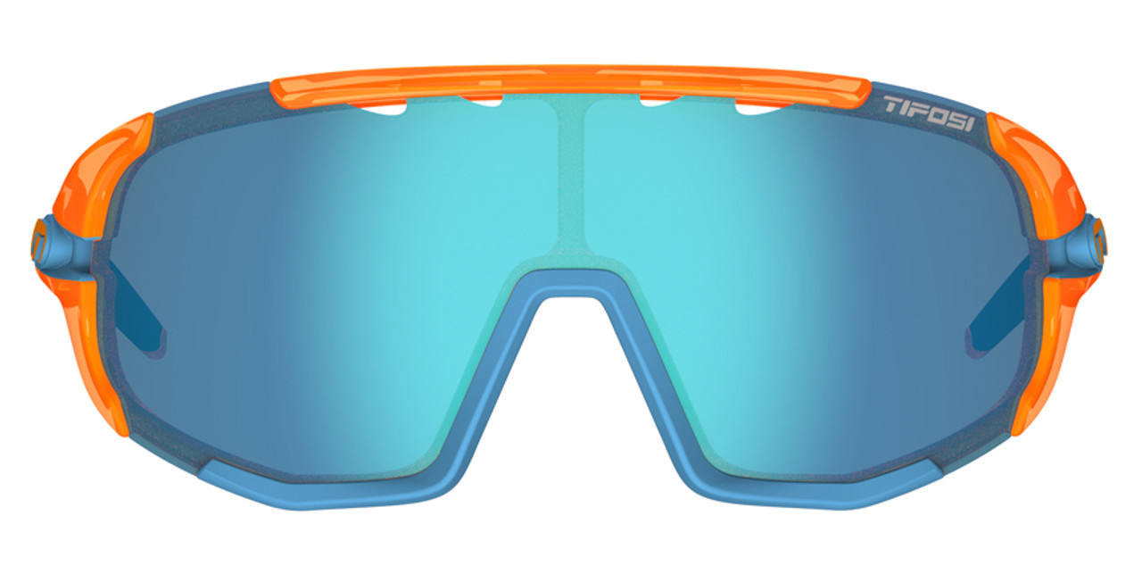 Crystal Orange - Clarion Blue, AC Red, Clear
