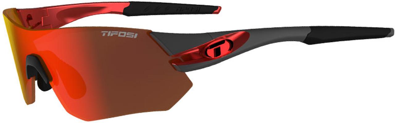 Tifosi Tsali Gunmetal/Red