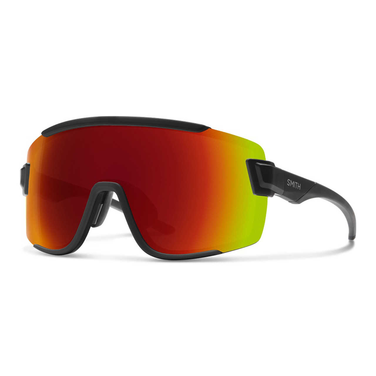 Matte Black w/ Chromapop Red Mirror - Smith Wildcat Sunglasses
