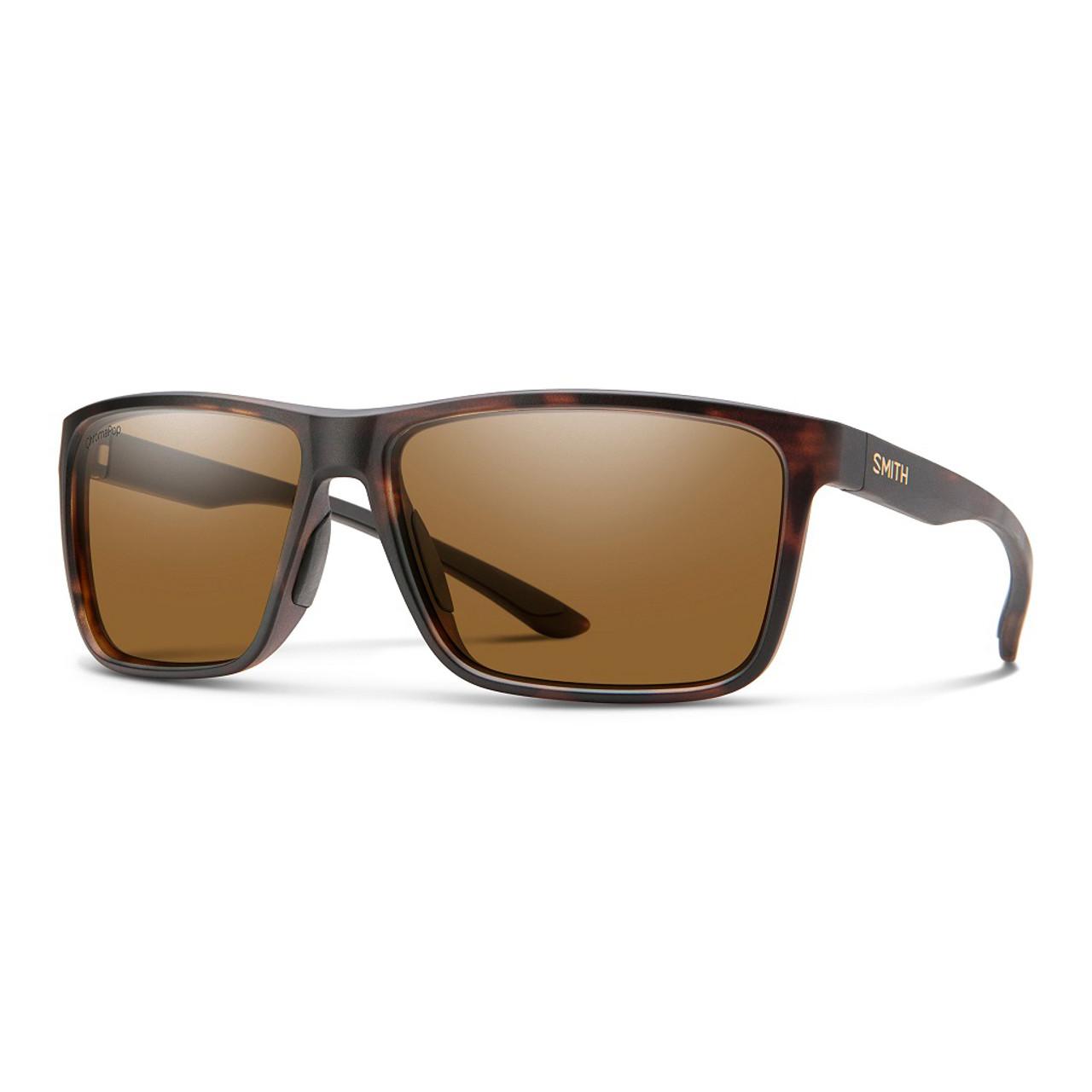 Matte Tortoise w/ ChromaPop Glass Polarized Brown - Smith Riptide Sunglasses