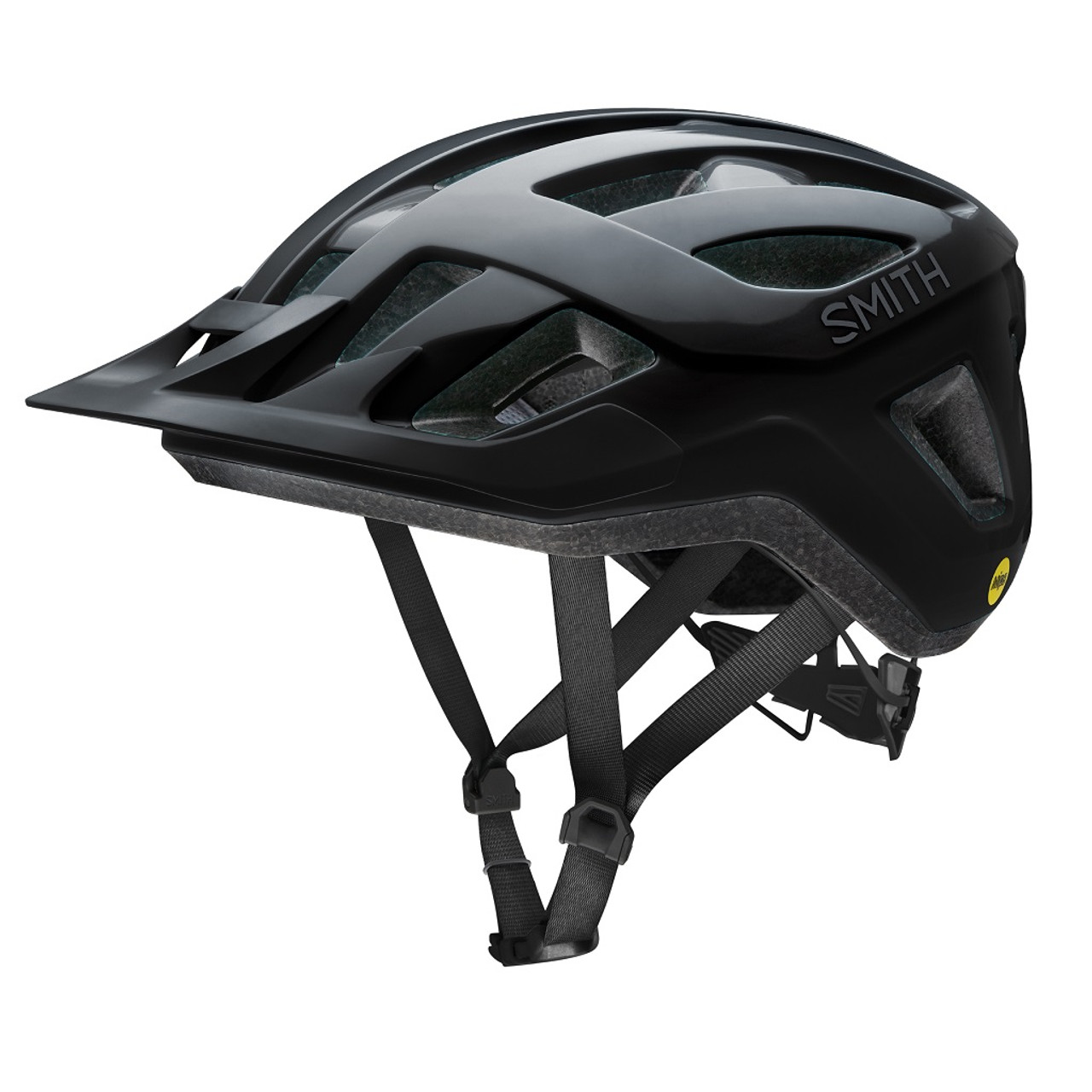 Black - Smith Convoy Bike Helmet