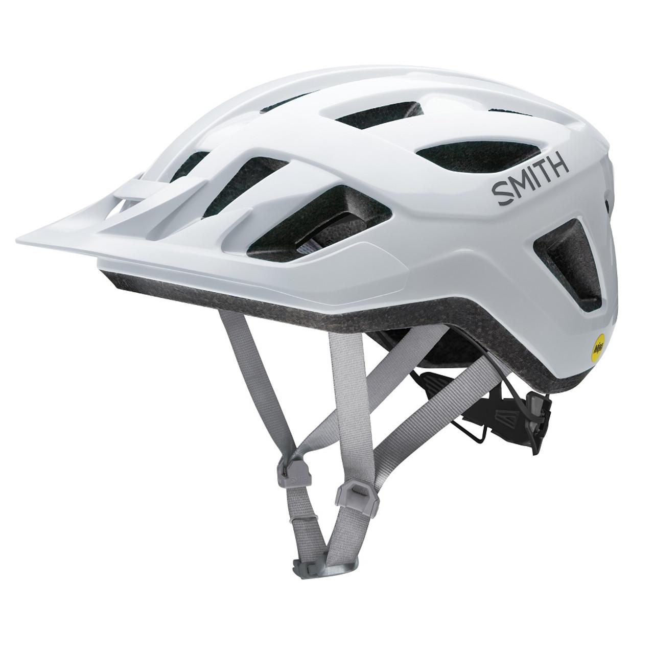 White - Smith Convoy Bike Helmet
