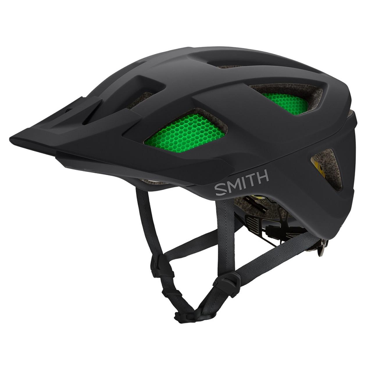 Matte Black - Smith Session Helmet 2019